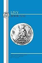 Ab urbe condita, liber 21 [in Latin] by Livy