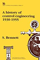 A History of Control Engineering 1930-1955…