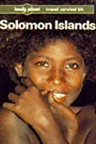 Lonely Planet Solomon Islands by David…