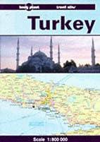 Lonely Planet Turkey Travel Atlas by Tom…
