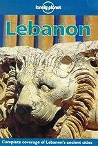 Lonely Planet Lebanon by Ann Jousiffe