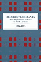 Records of Emigrants from England and…