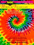 Forte, Imogene: Words & Vocabulary BASIC/Not Boring 6-8+: Inventive Exercises to Sharpen Skills and Raise Achievement