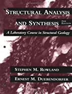 Structural Analysis and Synthesis: A…