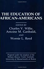 The Education of African-Americans by…