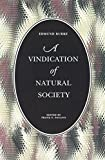 Edmund Burke: A Vindication of Natural Society