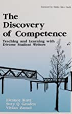 The Discovery of Competence: Teaching and…