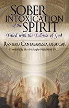 Sober Intoxication of the Spirit: Filled…