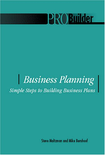business-planning-simple-steps-to-building-business-plans-pro-builder