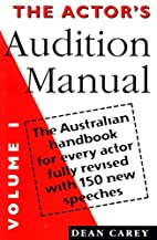 Actors Audition Manual the Australian…