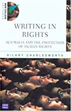 Writing in rights : Australia and the…
