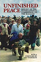 Unfinished peace : report of the…