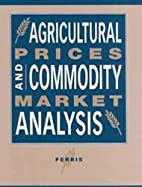 Agricultural Prices and Commodity Market…