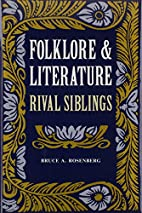 Folklore and Literature: Rival Siblings by…