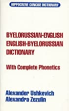 Byelorussian-English/English Byelorussian…