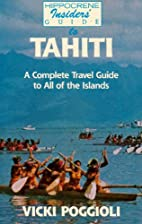 Tahiti Insiders' Guide Pb by S. Grennan