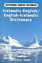 Icelandic-English/English-Icelandic…