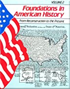 Foundations in American History: From…
