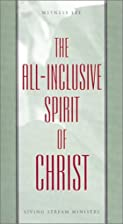 The All-Inclusive Spirit of Christ by…
