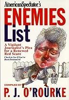 American Spectator's Enemies List: A…