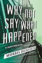 Why Not Say What Happened: A Sentimental…