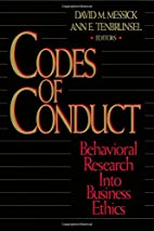 Codes of Conduct: Behavioral Research into…