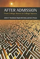 After Admission: From College Access to…