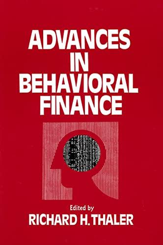 advances-in-behavioral-finance-roundtable-series-in-behavioral-economics