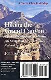 Annerino, John: Hiking the Grand Canyon Trail Map