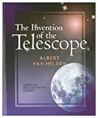 The invention of the telescope (Transactions…