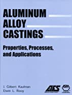 Aluminum alloy castings : properties,…