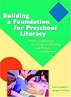 Building a Foundation for Preschool…
