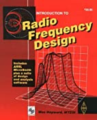 Introduction to Radio Frequency Design…