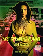 Fast Speaking Woman by Anne Waldman