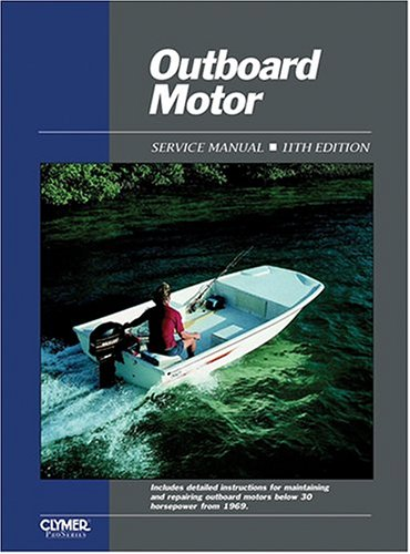 outboard-motor-service-manual-service-manual-covering-motors-below-30-horsepower-from-1969-outboard-motor-service-manual-vol-1