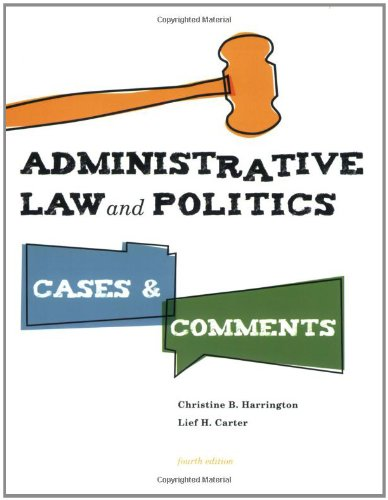 administrative-law-and-politics-cases-and-comments