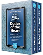Duties of the Heart by Baḥya ben Joseph…
