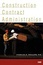 Construction contract administration by…