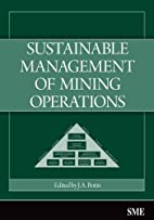 Sustainable management of mining operations…