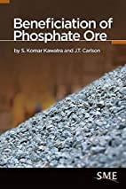 Beneficiation of Phosphate Ore by J.T…