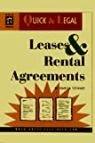 Stewart, Marcia: Leases & Rental Agreements (Quick & Legal Series)