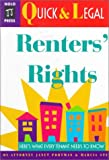 Portman, Janet: Renters' Rights (Quick & legal)