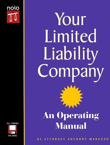 your-limited-liability-company-an-operating-manual-with-cdrom