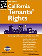 California tenants' rights by Myron…