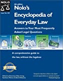 Irving, Shae: Nolo&#39;s Encyclopedia of Everyday Law: Answers to Your Most Frequently Asked Legal Questions