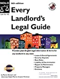 Stewart, Marcia: Every Landlord's Legal Guide with CDROM (Every Landlord's Legal Guide (W/CD))