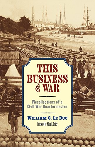 this-business-of-war-recollections-of-a-civil-war-quartermaster