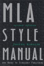 MLA style manual and guide to scholarly…