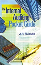 The Internal Auditing Pocket Guide by J. P.…