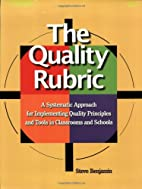 The Quality Rubric: A Systematic Approach…